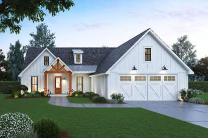 House Plan 4534 Modern Farmhouse Plan 2 290 Square Feet 3 Bedrooms 2 5 Bathrooms