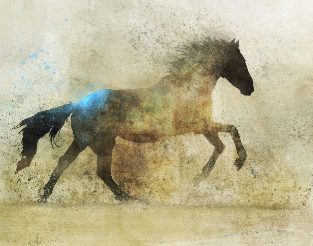 Famous Horse Artists | Artist: Ken Roko, Etsy shop: krokoart | Art ...