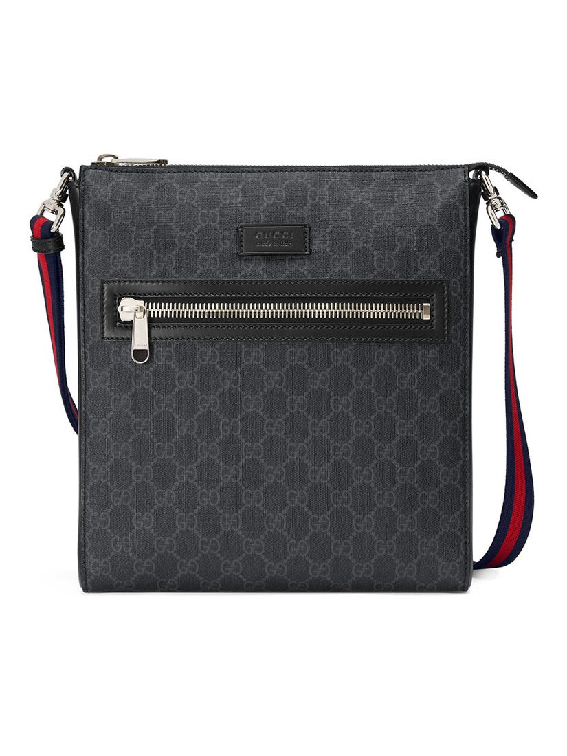 7f02d9e7b01f GUCCI GG Supreme邮差包. #gucci #bags #shoulder bags #leather #canvas #pvc # lining
