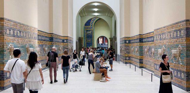 Labbu Ischtars Lowe Aus Dem Pergamonmuseum Alter Orient Tempel Osmanisches Reich