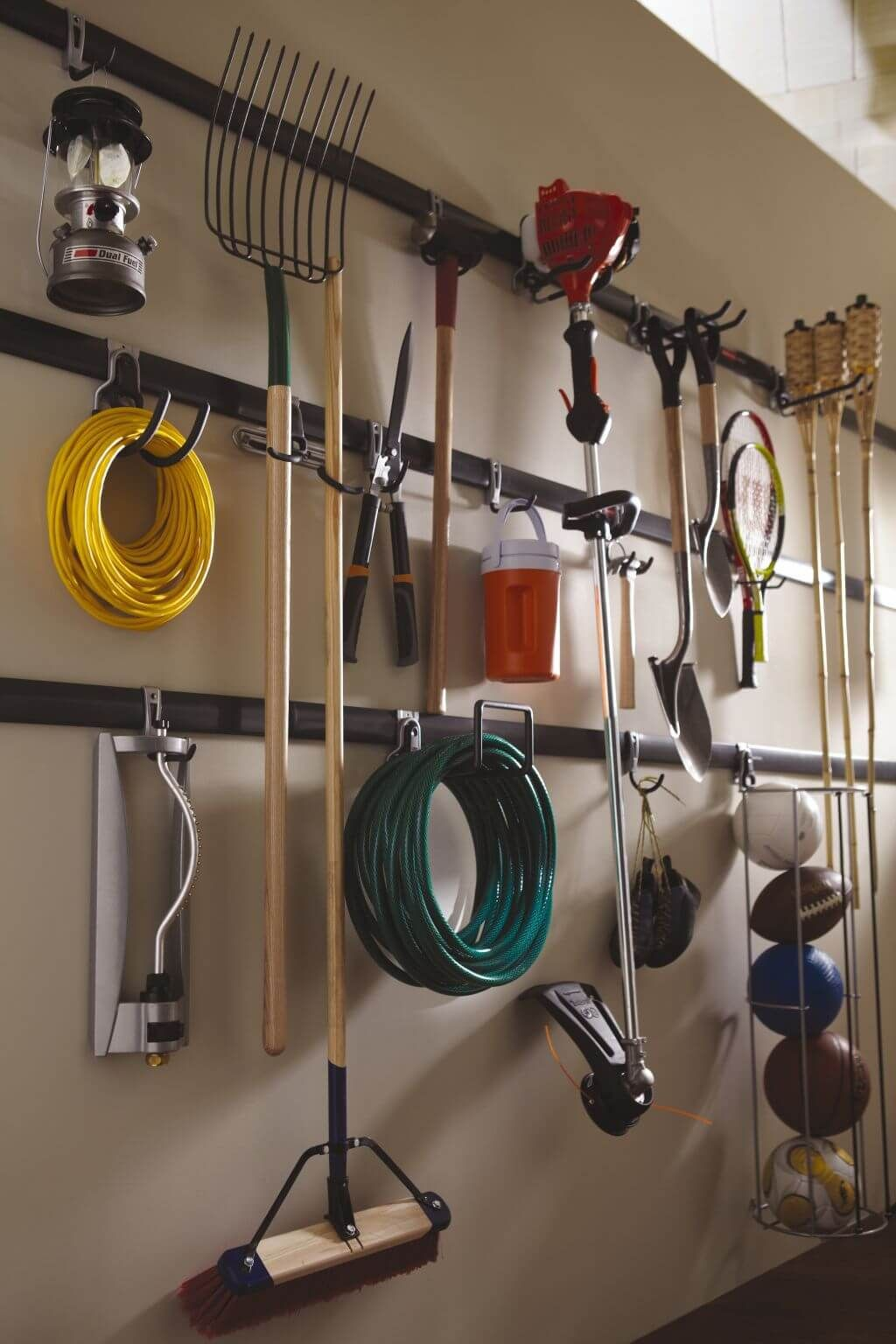 Wall Mounted Garage Organization Projects Shed Garage