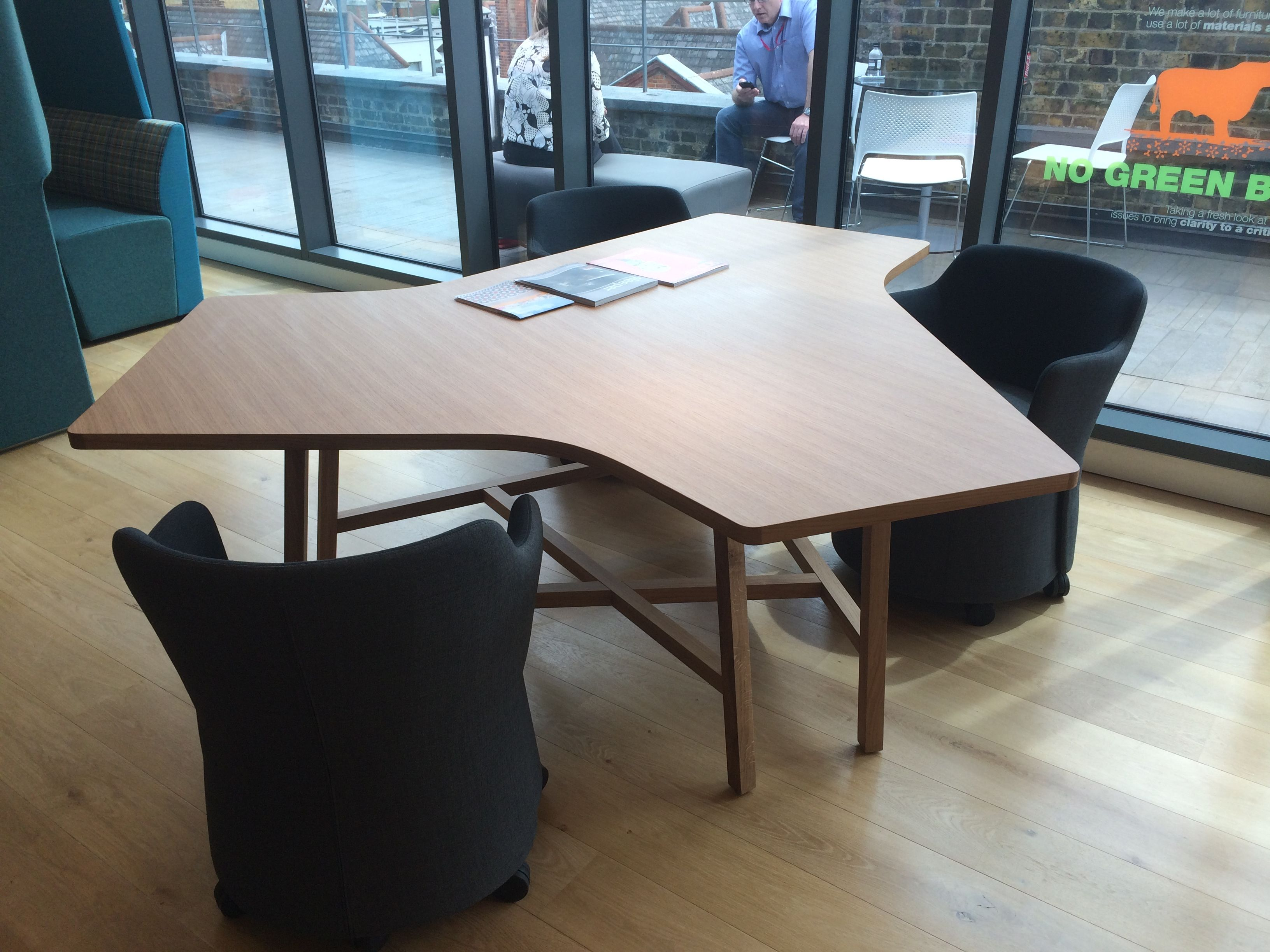 3rd space furniture from Bene. Parcs America diner. An attractive ...