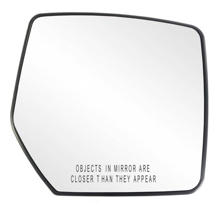 Mirror Glass For 07-11 Dodge Nitro Driver Side Replacement