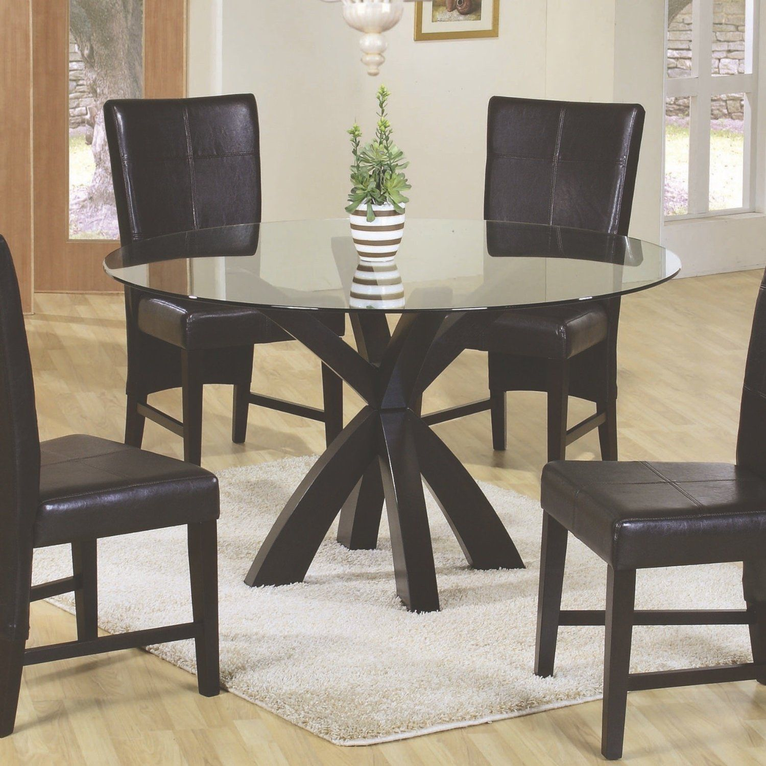 Amazon  Coaster Home Furnishings 101071 Casual Dining Table Unique Casual Dining Room Tables Review