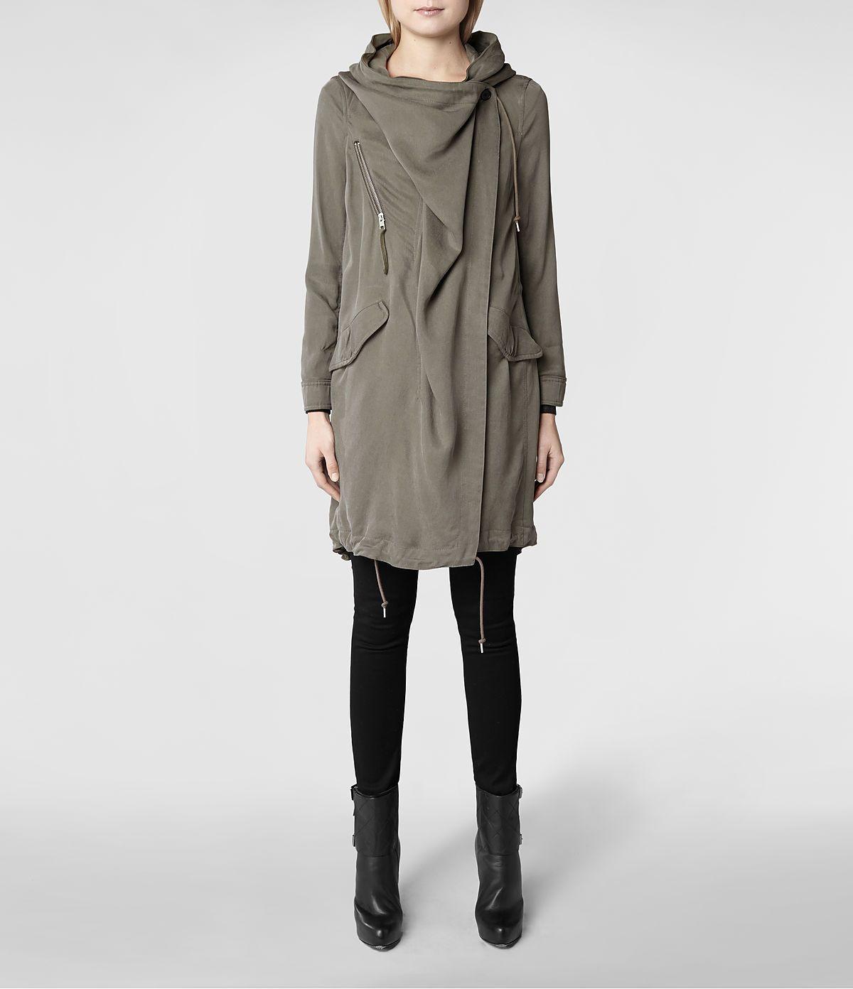 46c04882e AllSaints Portere Parka | Womens Trench Coats | I ♥ ALL SAINTS ...