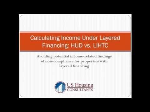HUD vs. LIHTC Income Calculation
