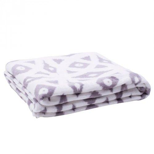 Couverture En Polaire Imprimee Tanya Couvertures Jysk Canada Blanket Black Flannel Blanket White Blanket