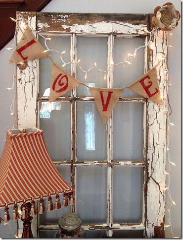 Farmhouse Style Valentine Decor Ideas 20