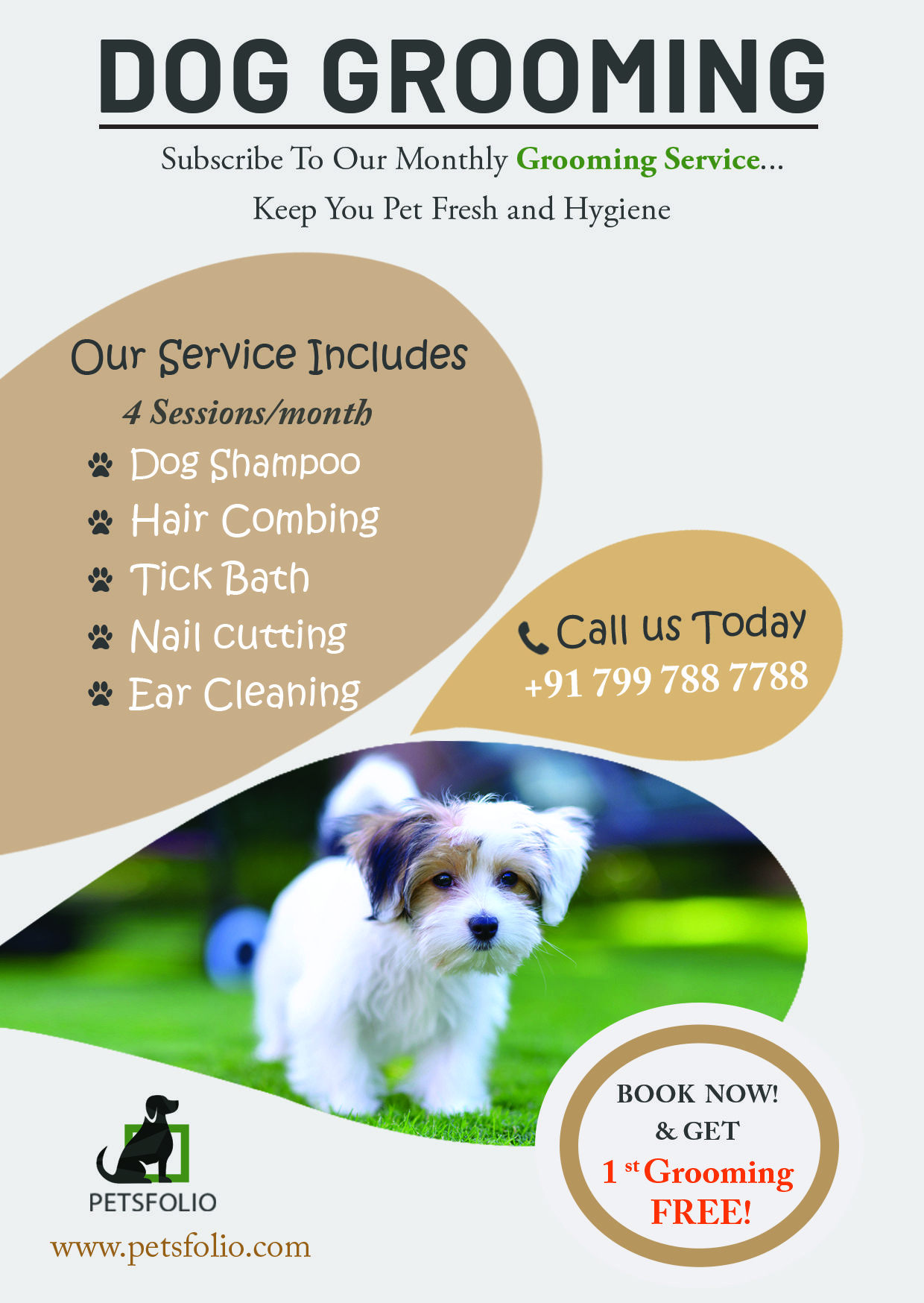 Dog Grooming Services In Hyderabad Dog Grooming Dog Shampoo