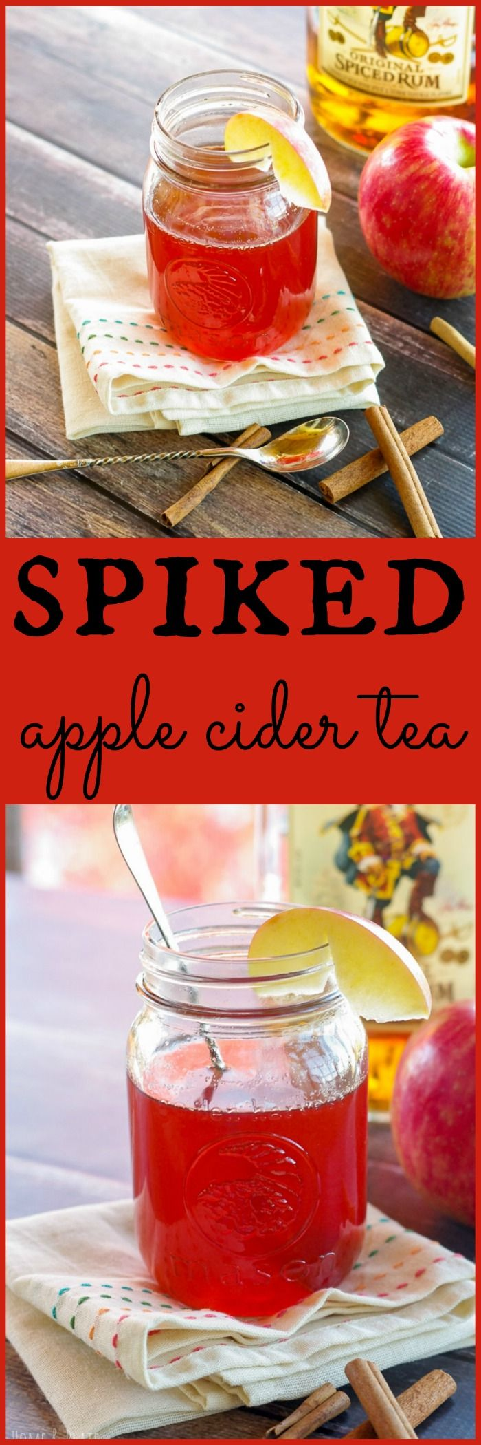 Spiked Apple Cider Recipe (Hot or Cold) - Home & Plate