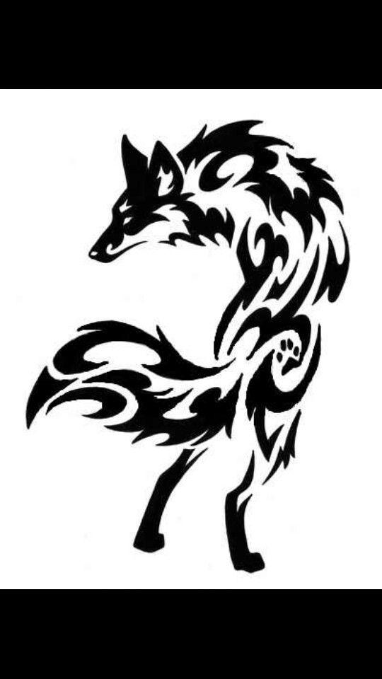Tribal Fox Tattoo Tribal Wolf Tattoo Tribal Fox Wolf Tattoo Design