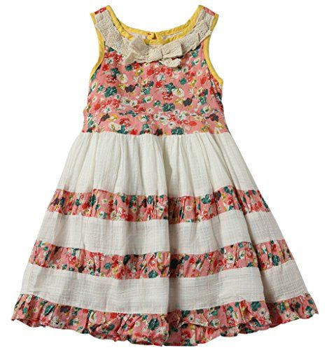 Shaerqueen Back Button Sleeveless Baby Girls Dress * Read more reviews of the product by visiting the link on the image.