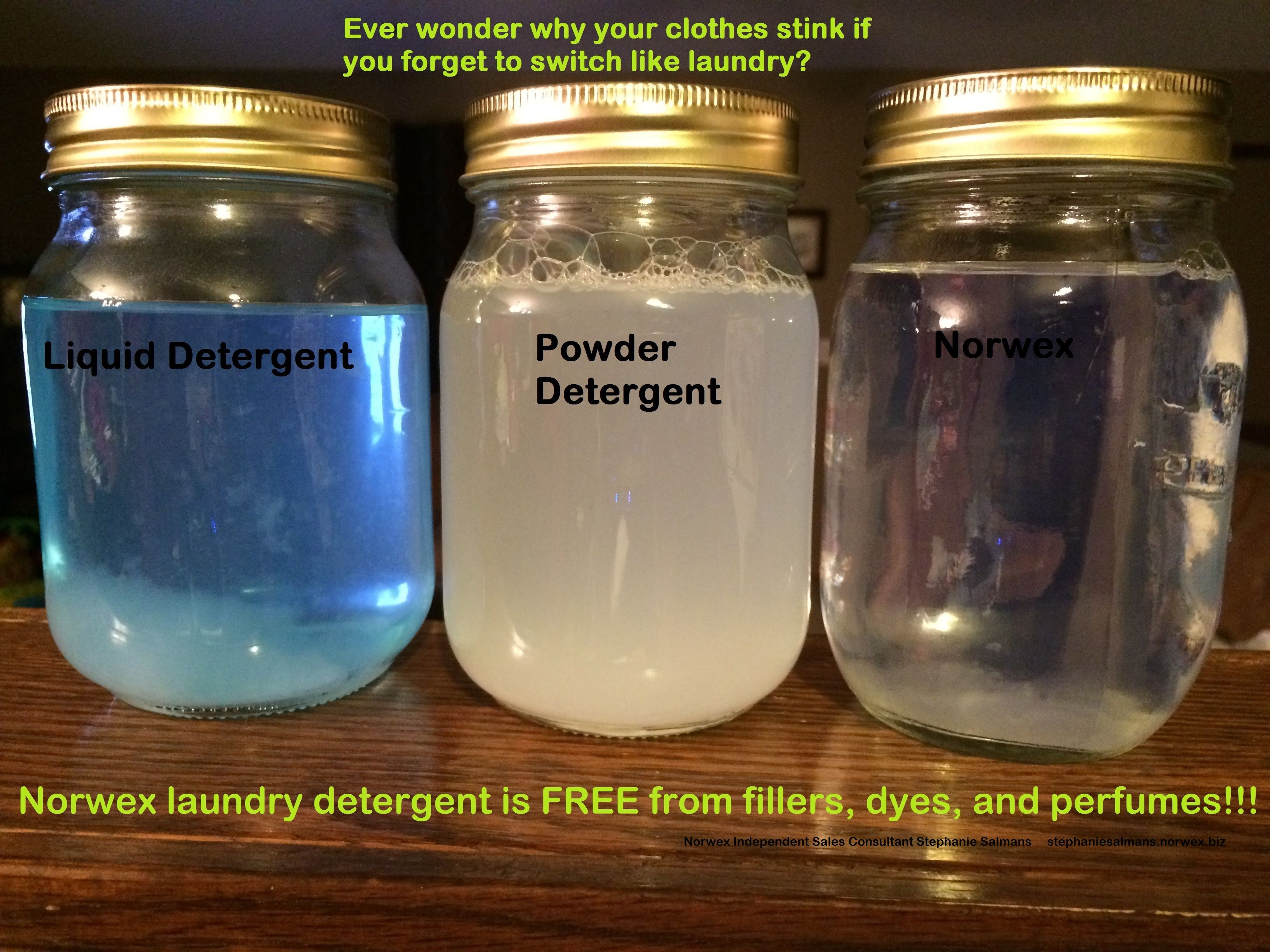 Chemical Free Laundry Detergent Awesome On Removing Stains