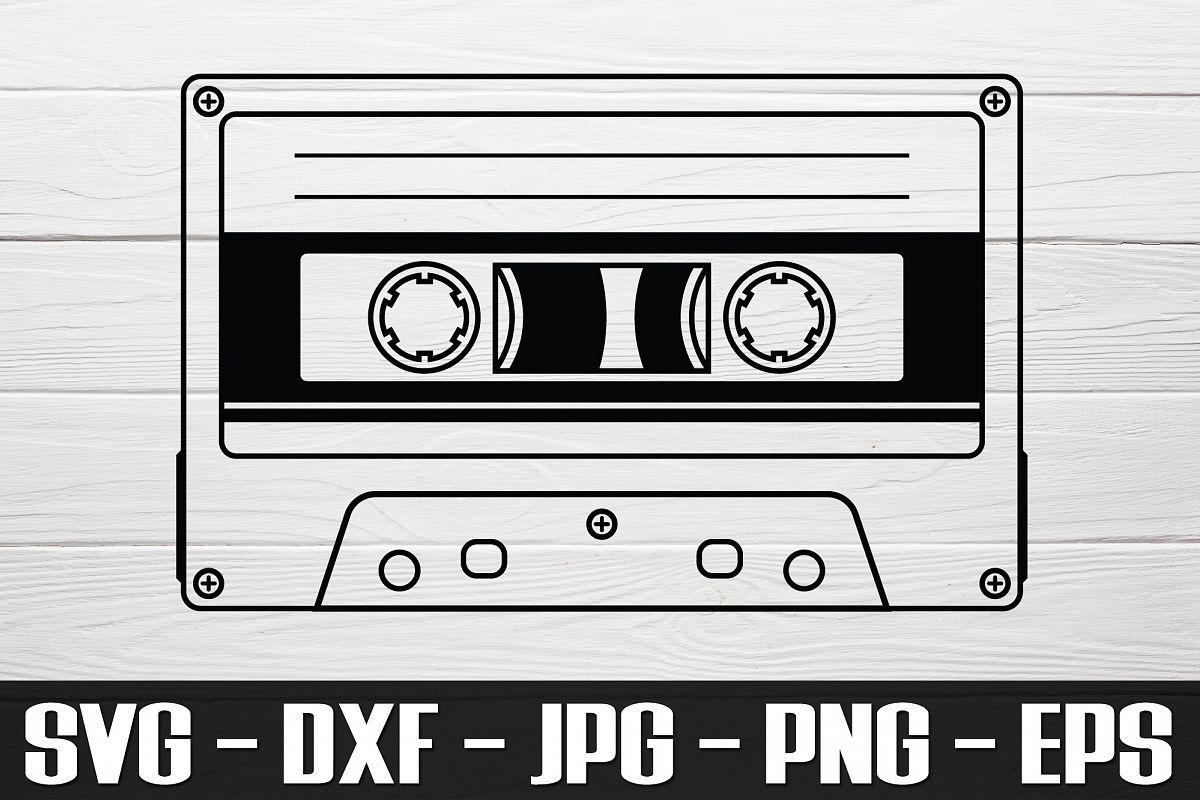 Cassette Tape Svg Png Eps Cassette Tape Clipart 418967 Svgs Design Bundles Cassette Tapes Svg Clip Art