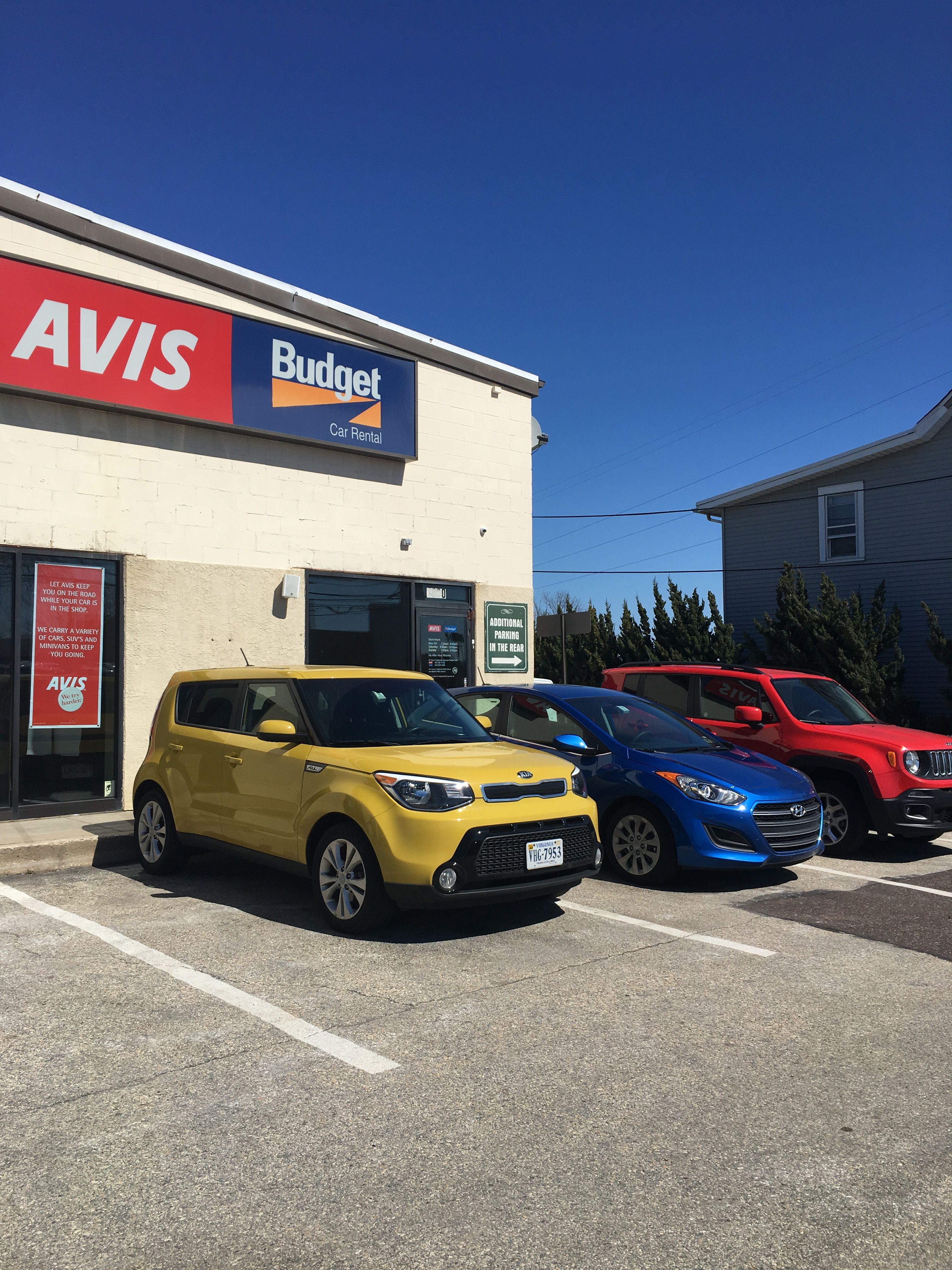 Brighten Up The Day With Avis Car Rental