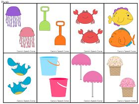 Summer Themed Preschool Language Pack Preschool Language Summer