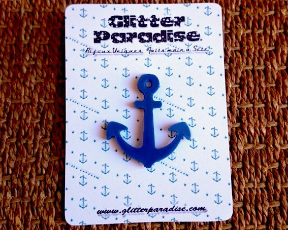 Anchor by GlitterParadise  Just Listed now in the official Etsy Shop  http://ift.tt/2aJ59Iu