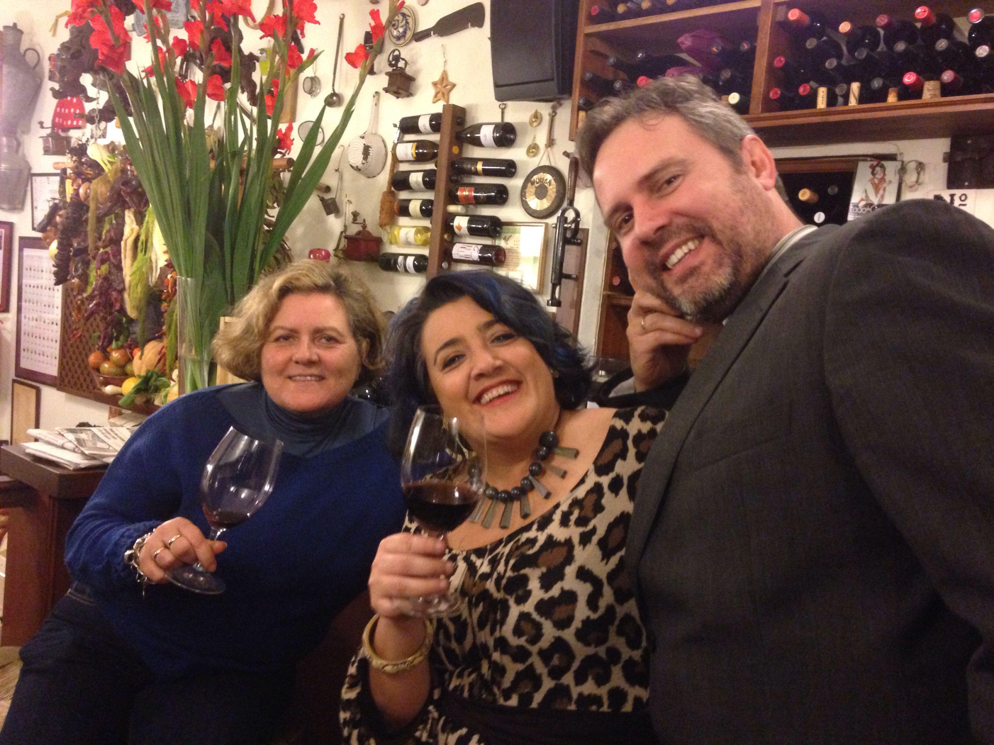 Con el gran Juanma Terceño y Margarita Lozano