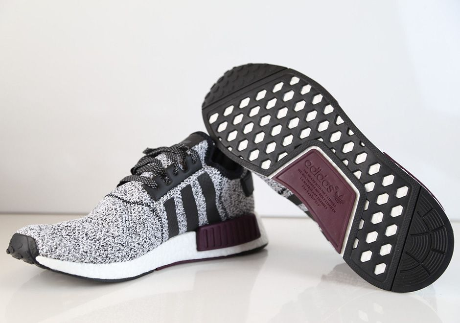 2e62d709f6067 adidas NMD Reflective Black Maroon Champs Exclusive