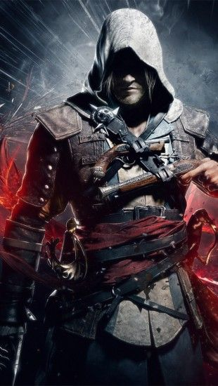 Assassins Creed Black Flag The Iphone Wallpapers With Images Assassin S Creed Black