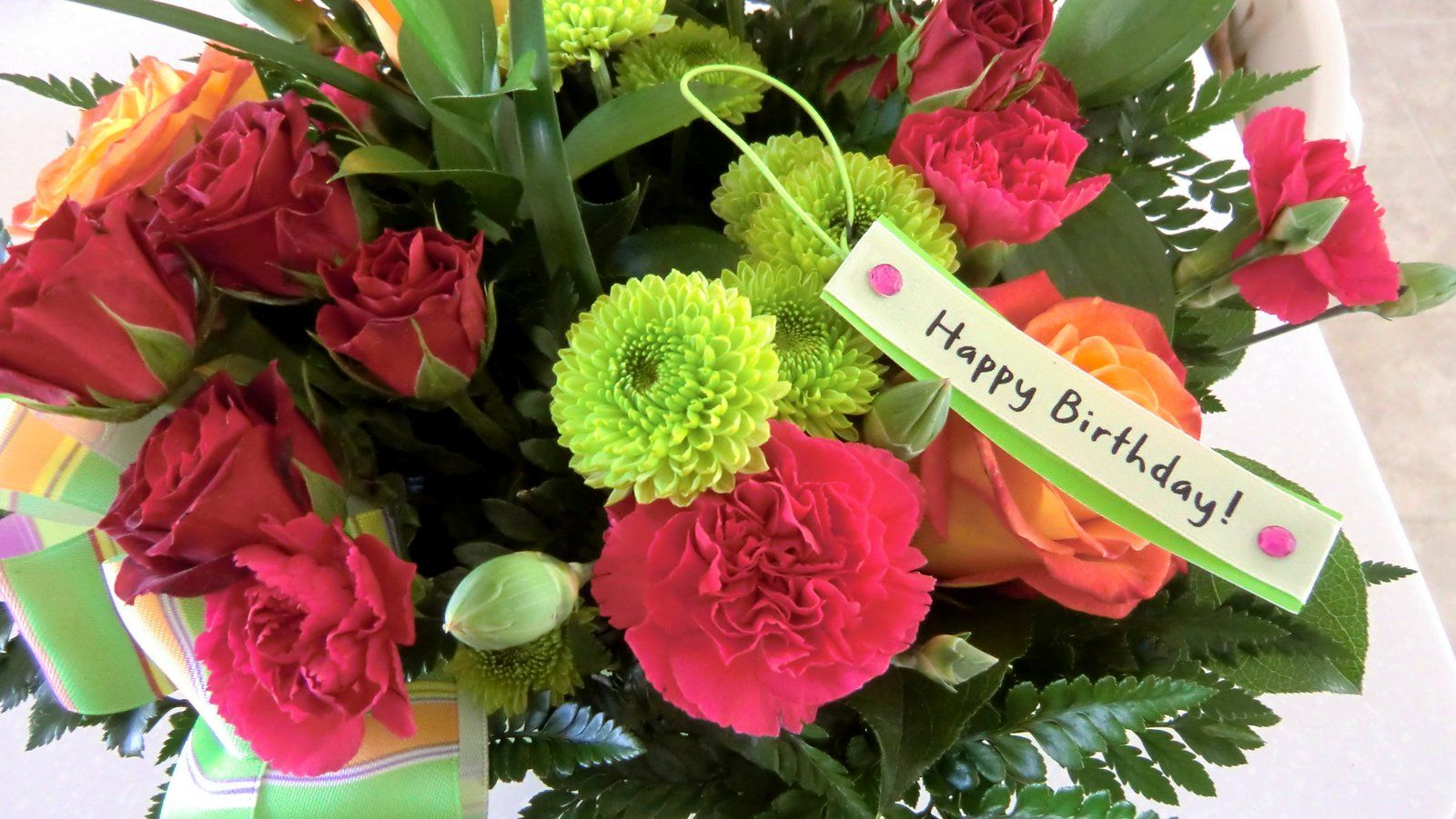 Image result for birthday wishes with flowers gr8 people helping image result for birthday wishes with flowers izmirmasajfo Choice Image