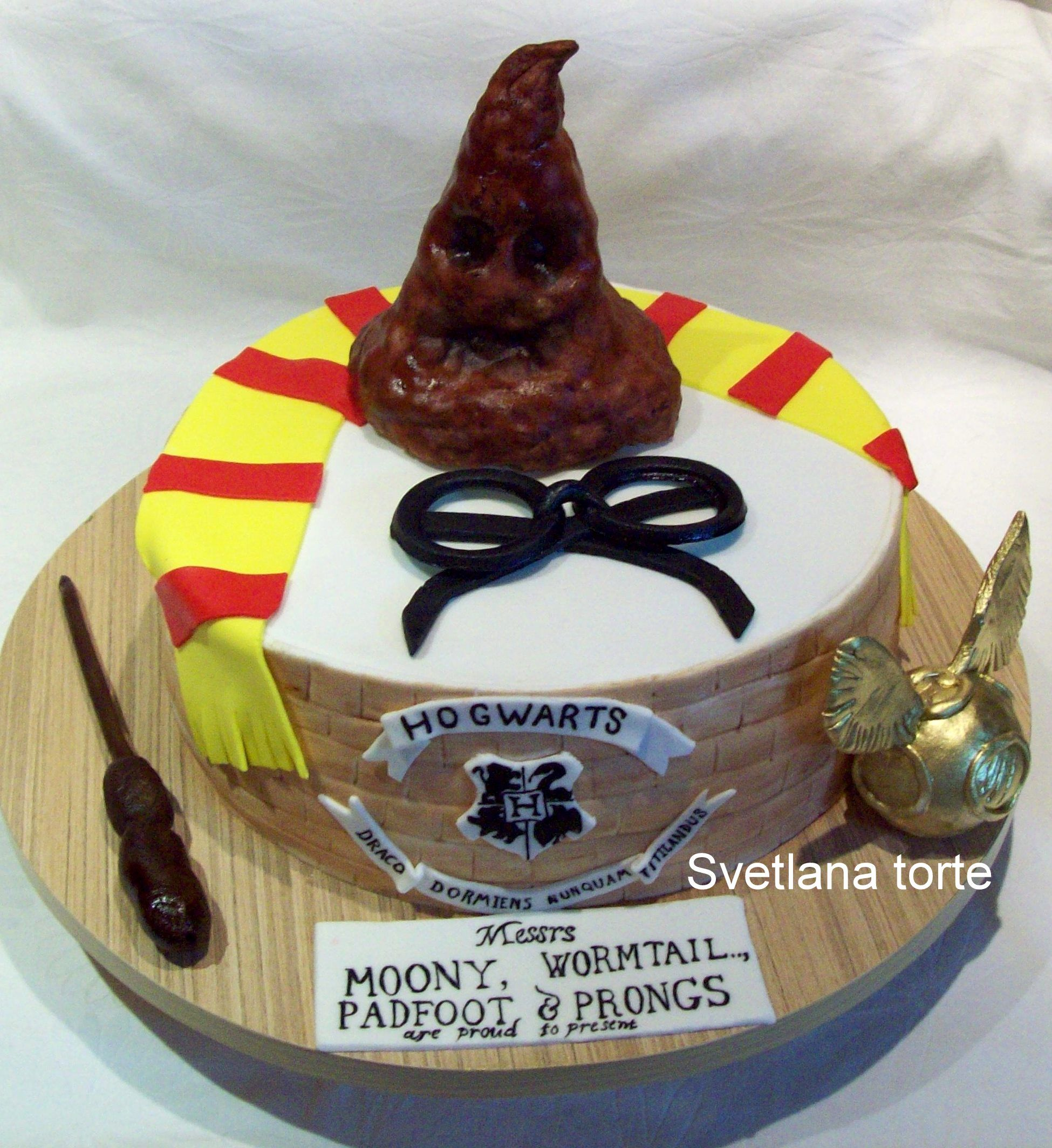 Harry potter cake | Decije torte | Pinterest | Torten