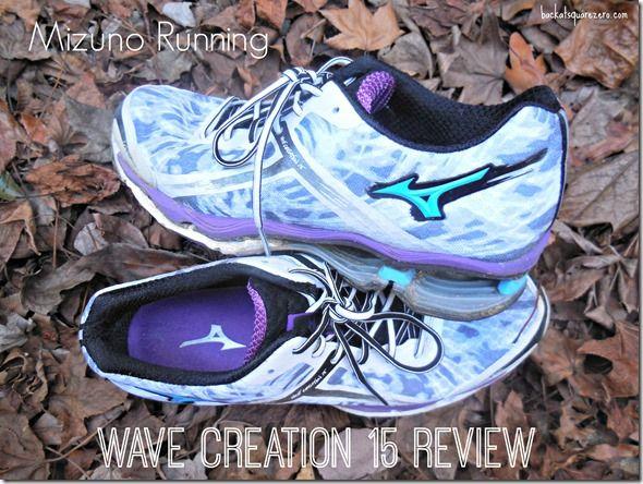 mizuno men's wave creation 15 review