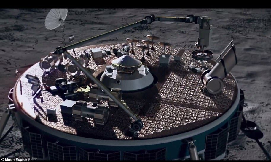 Hopping 'R2D2' bot to blast off to the lunar surface in