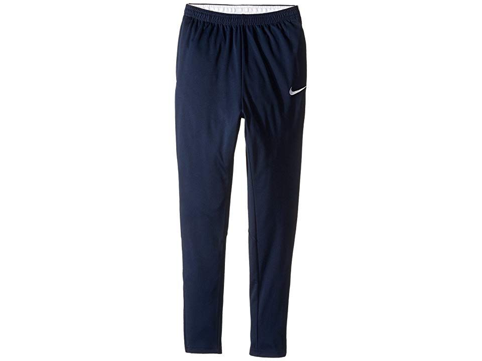 892f321204e5 Nike Kids Dry Academy Soccer Pant (Little Kids Big Kids)  (Obsidian Obsidian White White) Boy s Casual Pants. Step onto the field  with confidence in the Dry ...