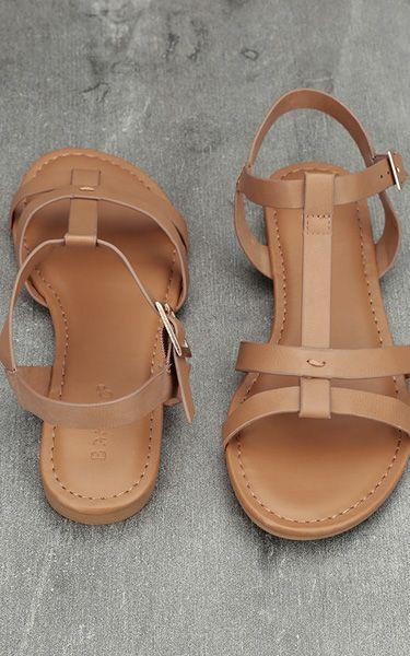 Nia Tan Flat Sandals via @bestchicfashion   Womens sandals, Sandals, Shoes flats  sandals
