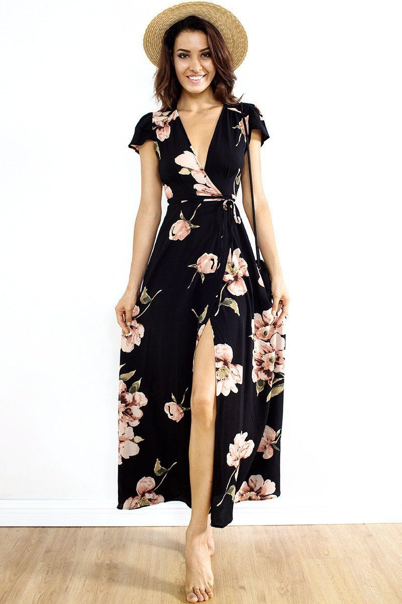 1c1645e3572fe Product Description: (Free Shipping) Buy Boho Fashion Women Deep V ...