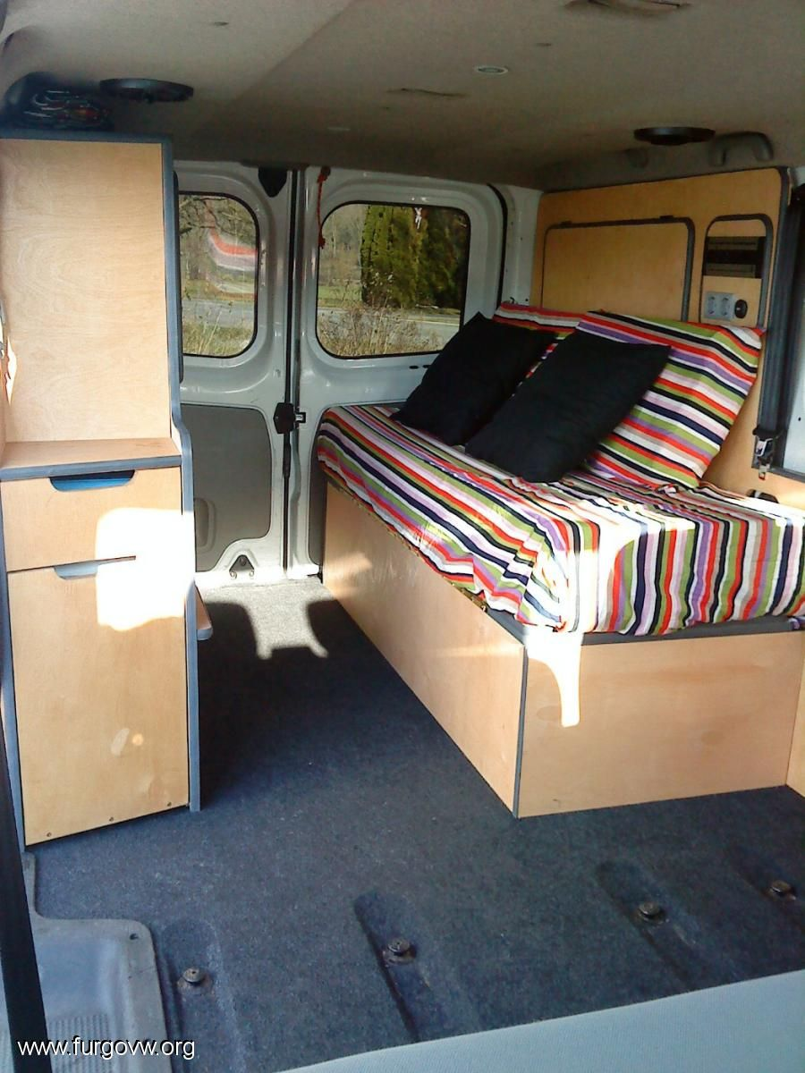 opel vivaro camper 1 9 cdti largo 6 plazas campervan pinterest wohnmobil. Black Bedroom Furniture Sets. Home Design Ideas