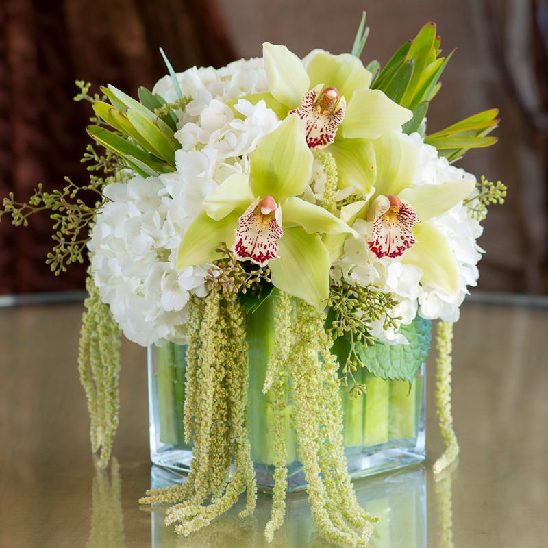 Emerald orchid bouquet in los angeles ca westwood