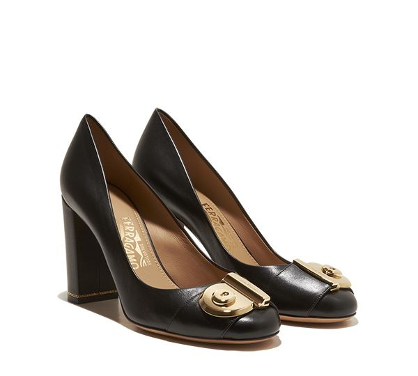 outlet buy discount best Salvatore Ferragamo Fiamma Logo Pumps free shipping many kinds of sale new styles kvxxPSy3RV