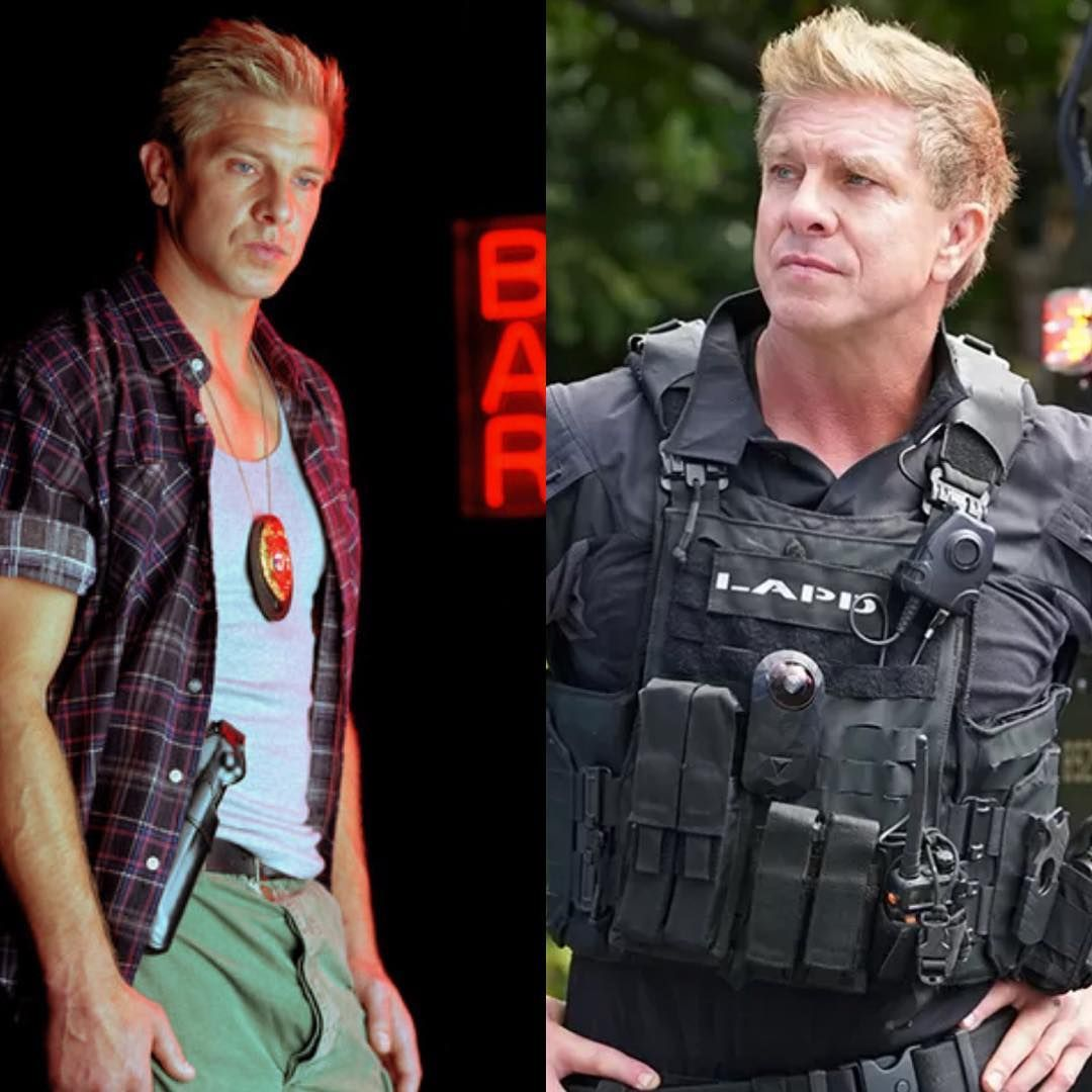 Kenny Johnson On Instagram Lem And Luca Both Lapd Any Other Similarities Swat Theshield Friends Actors Johnson Swat