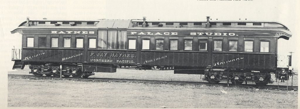 Haynes Palace Studio Car In 1885 F Jay Haynes Bought A Pullman Car From The Northern Pacific Railroad And Had It Refitted As A Native American Pullm