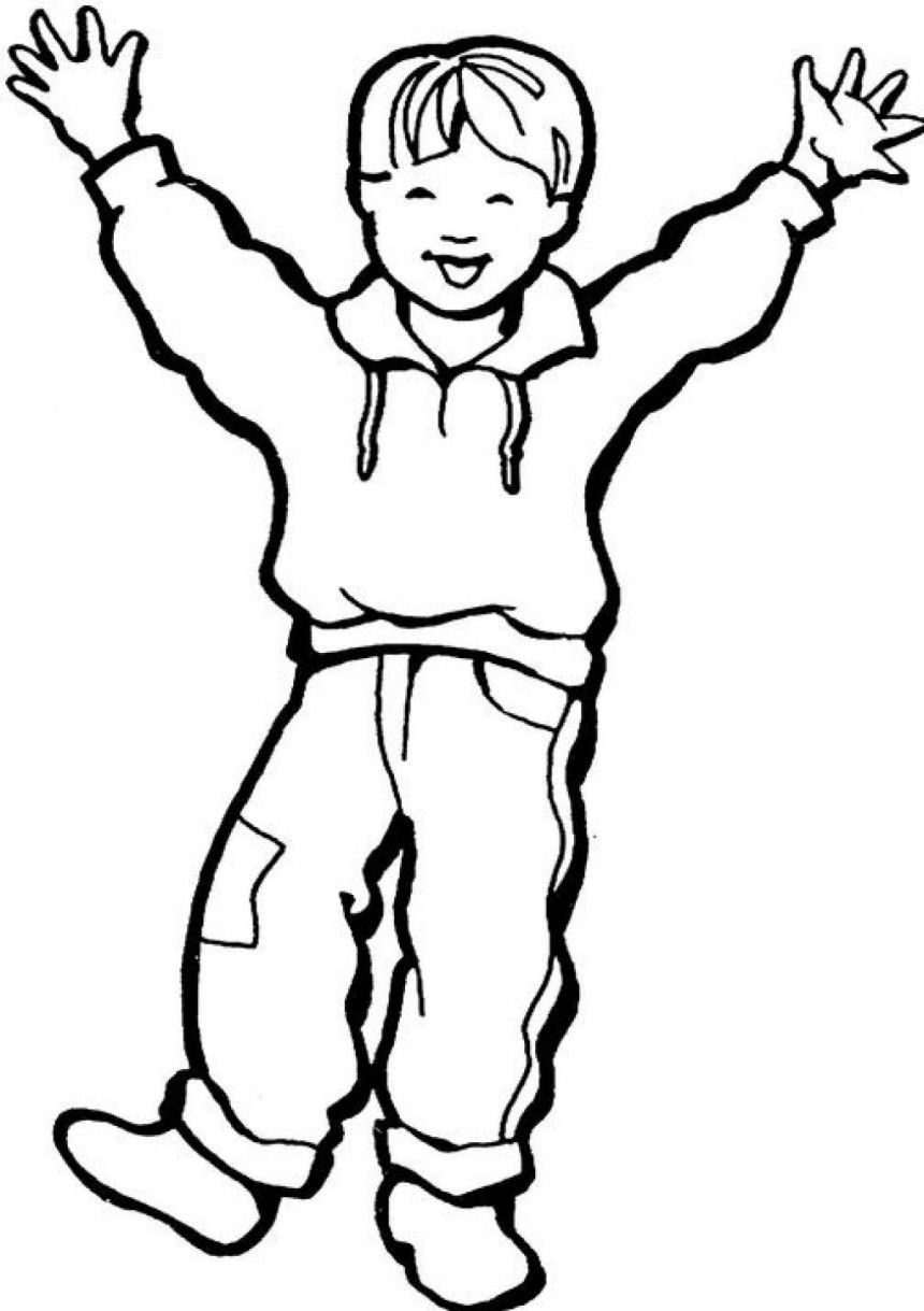 Free Printable Boy Coloring Pages For Kids With Images Boy