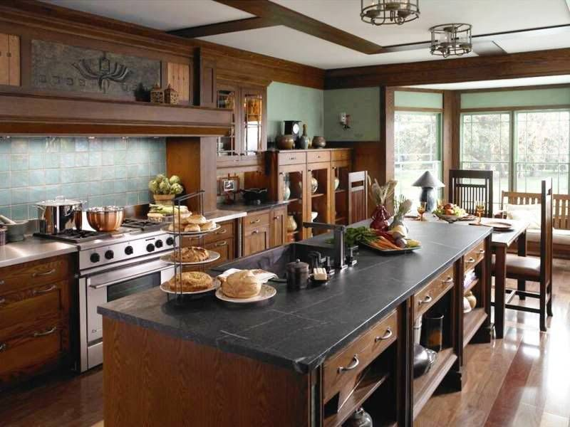 20 Adorable Craftsman Kitchen Design And Ideas For You #craftsmanstylehomes