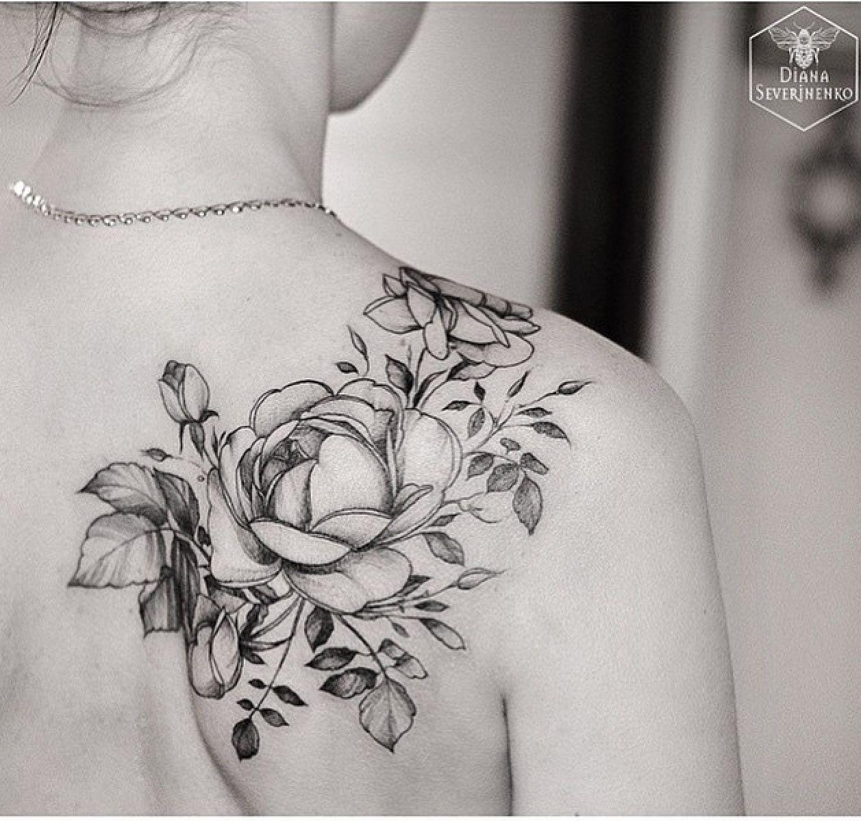 Pinterest Ladsmb Cool Shoulder Tattoos Shoulder Tattoos For Women White Rose Tattoos
