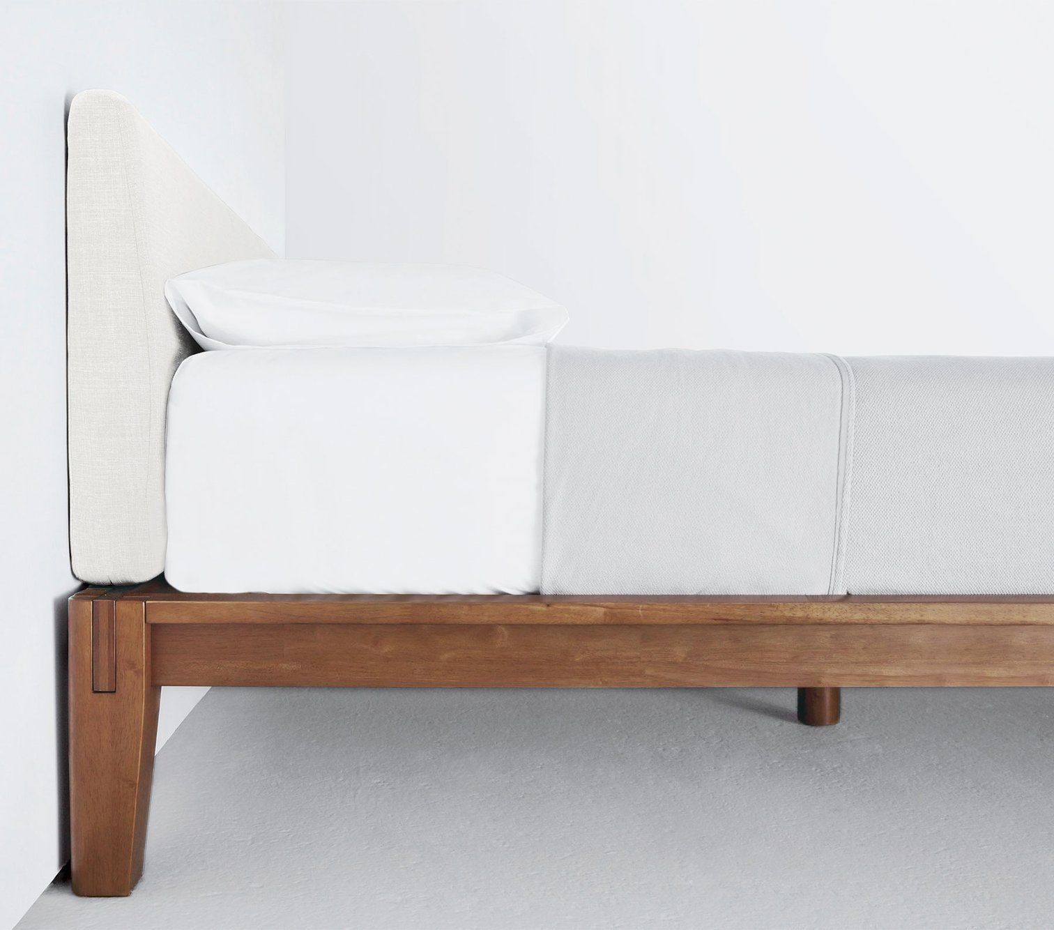 The Bed by Thuma Bed frame, Simple bed, Platform bed