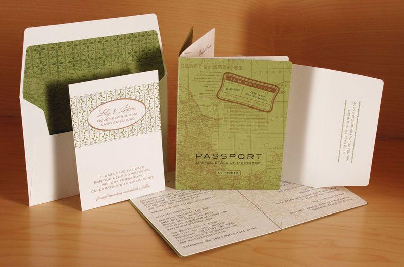 Canadian Wedding Invitations: Wedding Invitations - Spark Letterpress