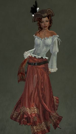 Pirate Girl Outfit by Caverna Obscura