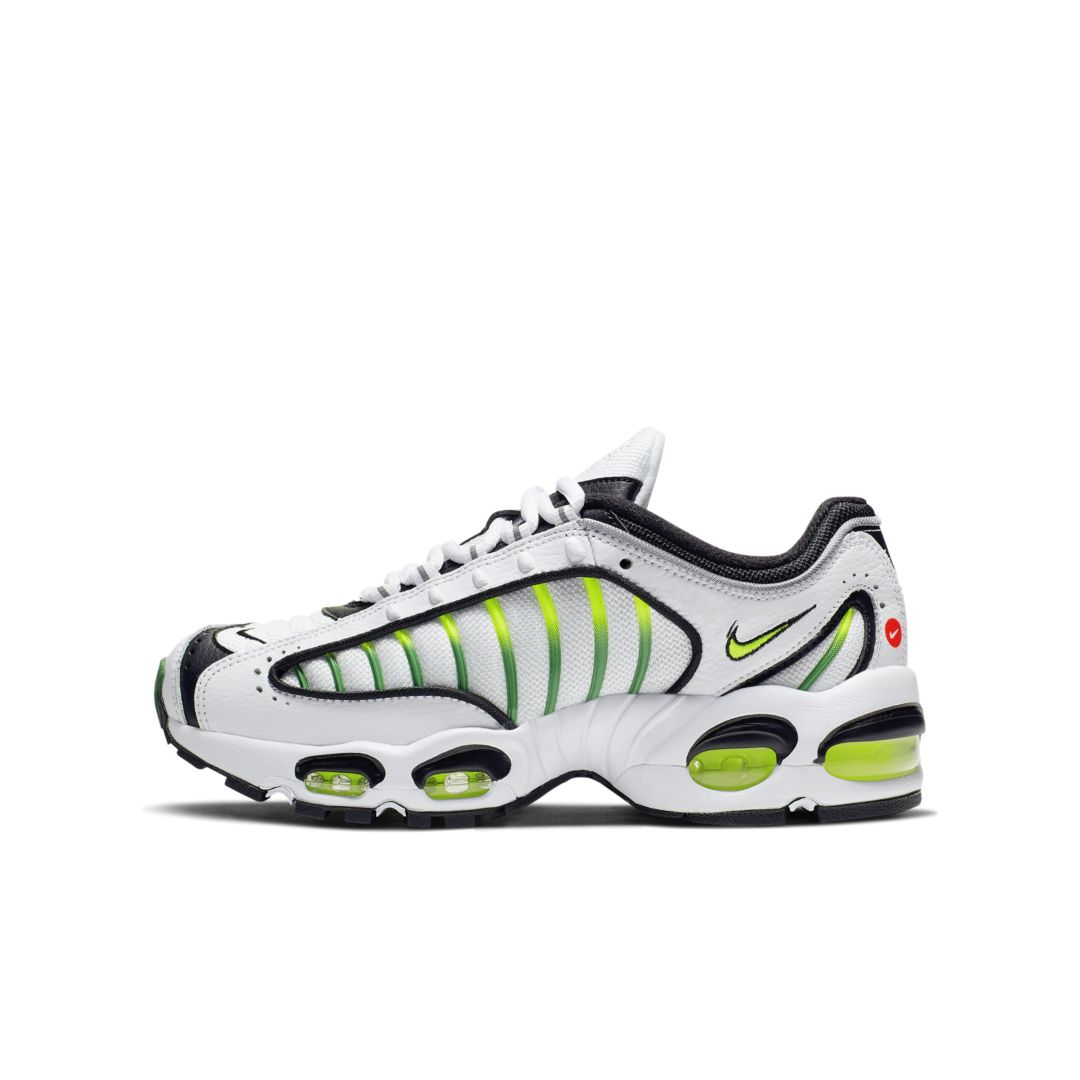 Nike Air Max Tailwind IV Big Kids' Shoe Size 6.5Y (White) in