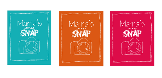 Mama's gonna SNAP {FREE printable camera poster} via @MJandGaloshes