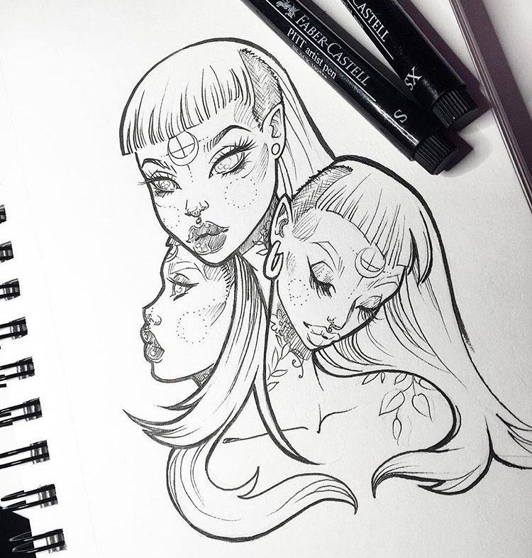 Line Art Instagram : Graphicartery gwen d arcy pinterest drawings tattoo