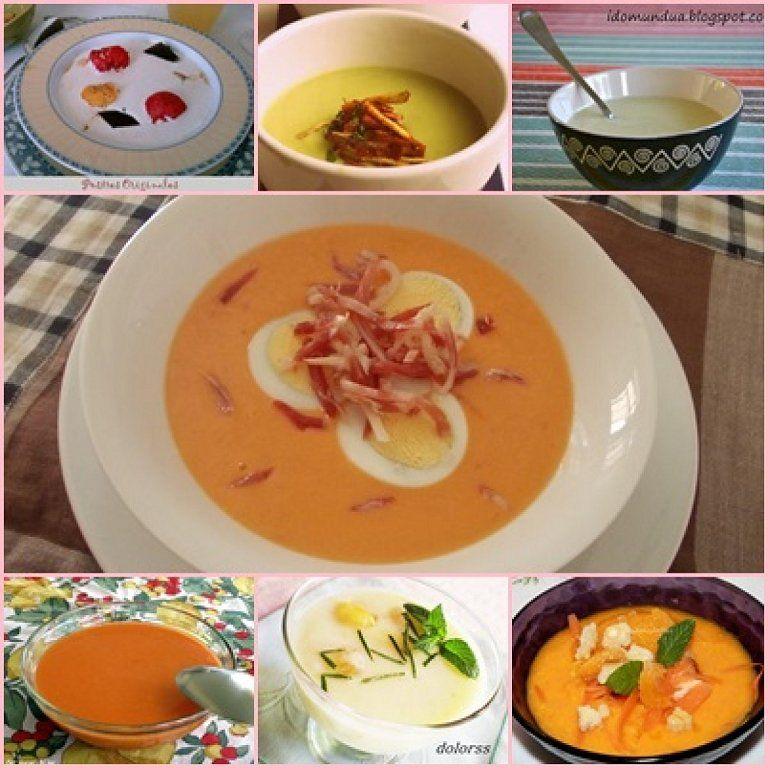 7 deliciosas recetas de SOPAS Y CREMAS FRÍAS   Cocinar en casa es facilisimo.com