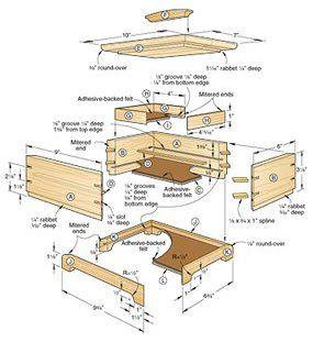 Plans to Build Secret Compartment Jewelry Box Plan secret