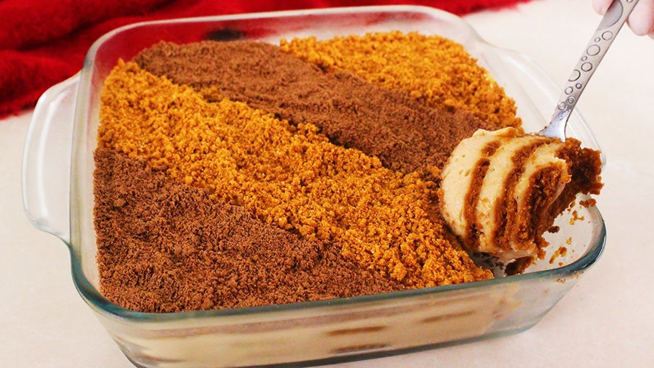 حلى اللوتس البارد يذوب في الفم حضريه بدقائق لعائلتك في رمضان بدون فرن Youtube Dessert Cake Recipes Food Baked Desserts Cakes