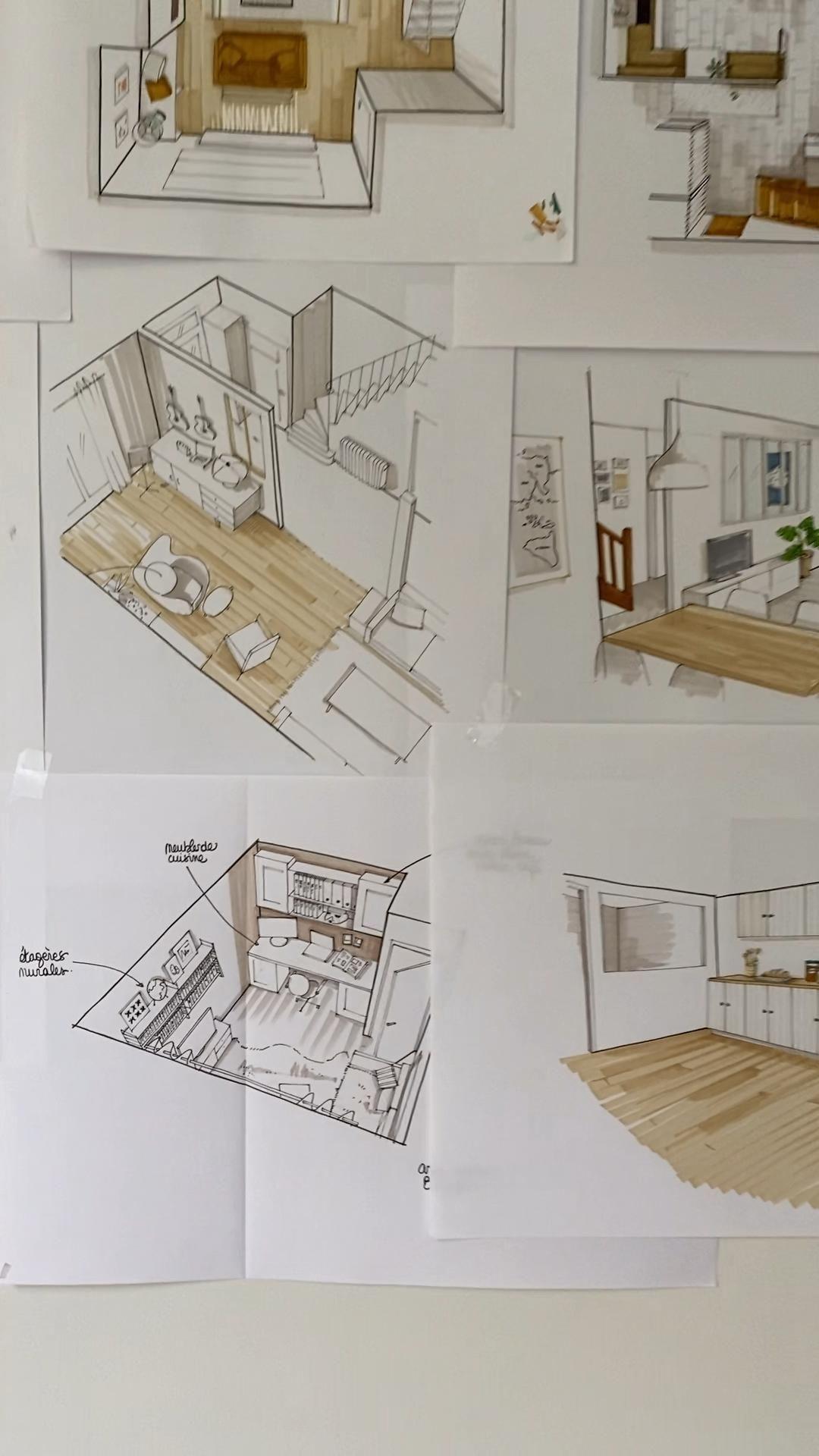Scketch interior