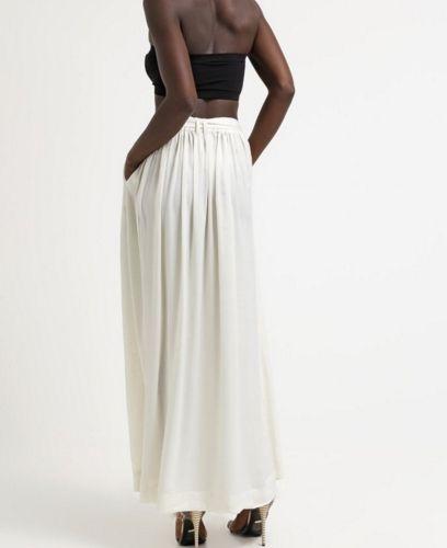 Wszystkie nowe Pepe Jeans SYLVIA Spódnica maxi biała plisowana ivory   Spódnice QM25